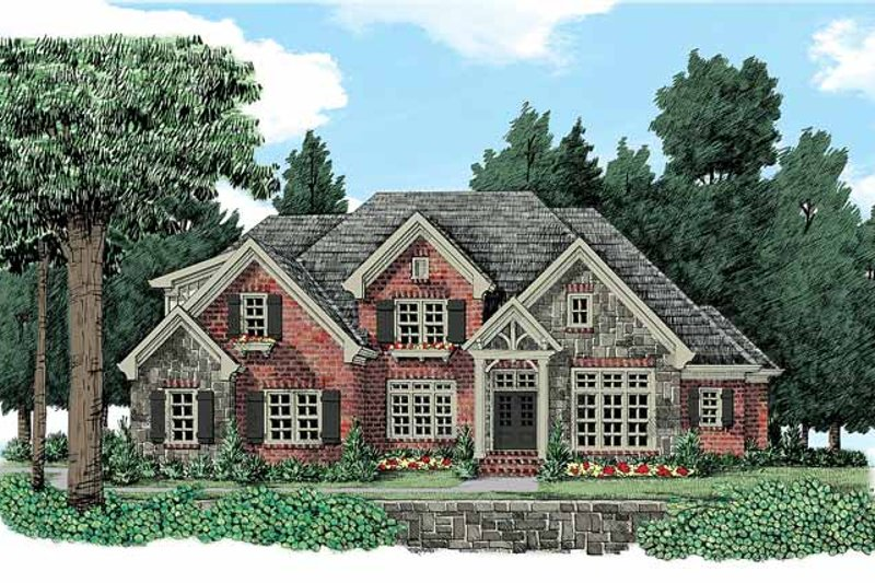 House Plan Design - Country Exterior - Front Elevation Plan #927-373