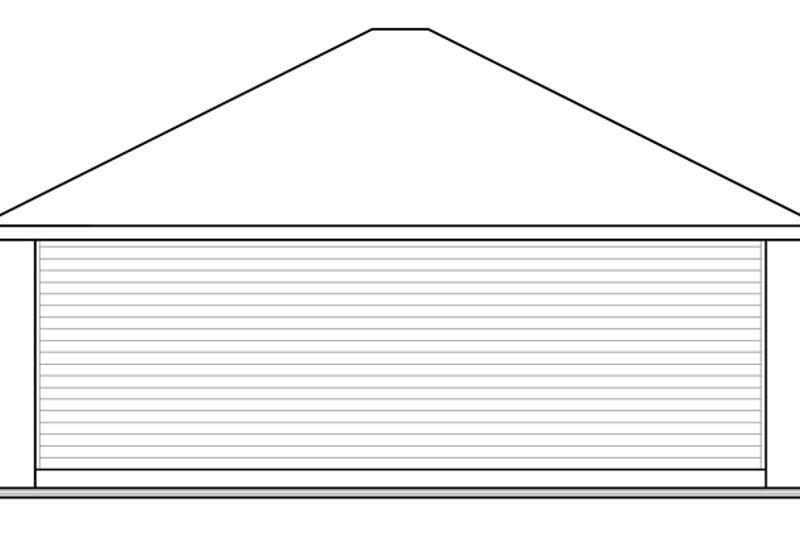 Contemporary Exterior - Rear Elevation Plan #23-2564 - Houseplans.com