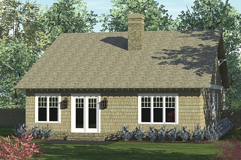 Craftsman Exterior - Rear Elevation Plan #453-612 - Houseplans.com