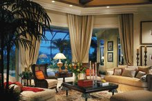 House Plan Design - Mediterranean Interior - Family Room Plan #930-311