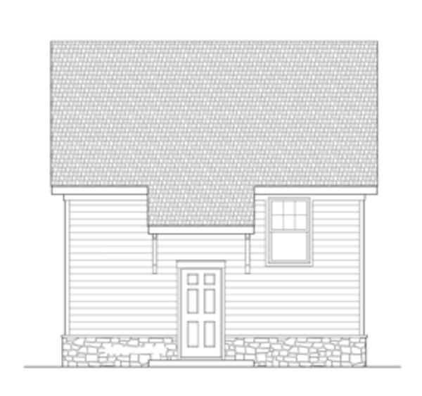 Craftsman Floor Plan - Other Floor Plan Plan #1029-65