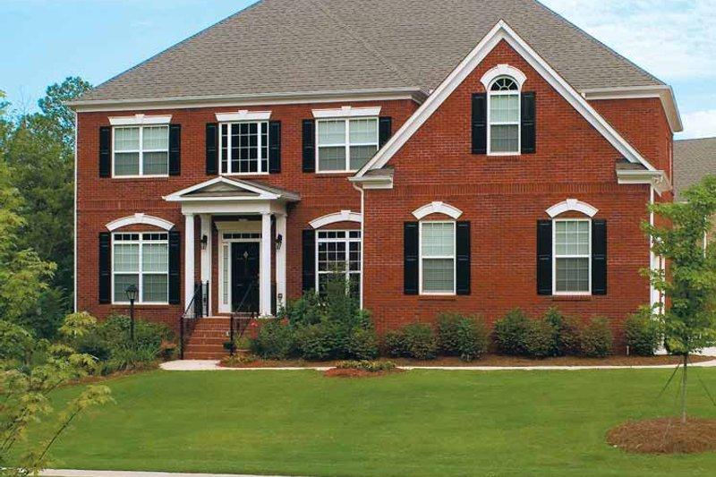 Classical Exterior - Front Elevation Plan #927-60 - Houseplans.com
