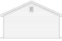 Dream House Plan - Country Exterior - Rear Elevation Plan #932-103