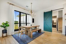 Architectural House Design - Breakfast Area