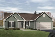 Traditional Exterior - Front Elevation Plan #22-101