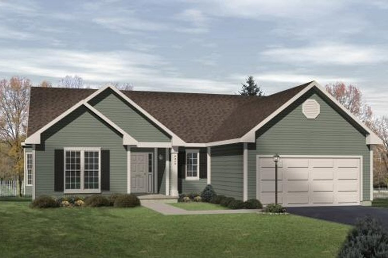 Home Plan - Traditional Exterior - Front Elevation Plan #22-101