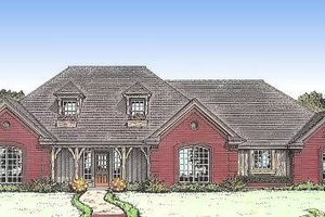 Traditional Exterior - Front Elevation Plan #310-615