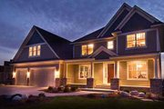 Country Style House Plan - 3 Beds 2.5 Baths 3253 Sq/Ft Plan #51-222 Exterior - Front Elevation