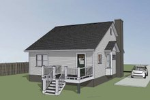 Dream House Plan - Cottage Exterior - Other Elevation Plan #79-137