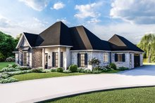 Dream House Plan - Country Exterior - Front Elevation Plan #406-9658