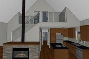 Cabin Style House Plan - 3 Beds 2 Baths 1249 Sq/Ft Plan #126-188 Interior - Other