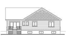 House Plan Design - Craftsman Exterior - Rear Elevation Plan #23-2641