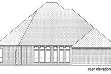 Dream House Plan - European Exterior - Rear Elevation Plan #84-507