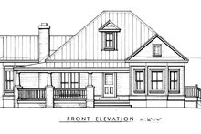 Farmhouse Exterior - Other Elevation Plan #140-133