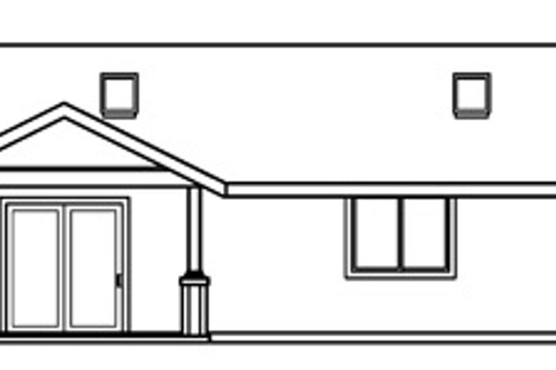 Craftsman Exterior - Other Elevation Plan #124-725 - Houseplans.com