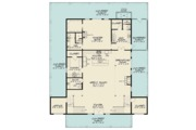 Country Style House Plan - 3 Beds 3.5 Baths 4072 Sq/Ft Plan #923-97 Floor Plan - Main Floor Plan