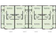 Traditional Style House Plan - 2 Beds 2 Baths 4160 Sq/Ft Plan #17-2468 Floor Plan - Upper Floor Plan