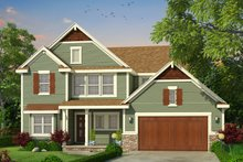 Traditional Exterior - Front Elevation Plan #20-2278