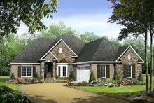 Home Plan - European Exterior - Front Elevation Plan #21-237