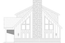 Country Exterior - Other Elevation Plan #932-54
