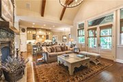 Craftsman Style House Plan - 4 Beds 3.5 Baths 2482 Sq/Ft Plan #120-184 Interior - Family Room