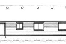 Ranch Exterior - Rear Elevation Plan #91-104