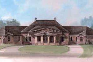 Dream House Plan - European Exterior - Front Elevation Plan #119-194