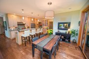 Contemporary Style House Plan - 3 Beds 3 Baths 2287 Sq/Ft Plan #1070-7 Interior - Kitchen