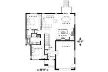Modern Floor Plan - Main Floor Plan Plan #23-2699