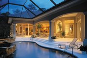 Mediterranean Style House Plan - 3 Beds 3.5 Baths 3891 Sq/Ft Plan #930-100 Exterior - Rear Elevation
