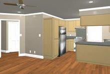 House Plan Design - Country Interior - Kitchen Plan #44-203