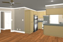 Home Plan - Country Interior - Kitchen Plan #44-203
