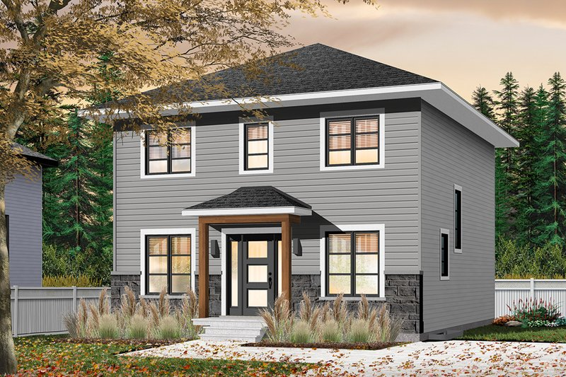 House Plan Design - Traditional Exterior - Front Elevation Plan #23-2703
