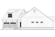 House Plan Design - Farmhouse Exterior - Other Elevation Plan #430-231