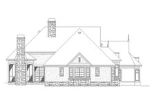 Dream House Plan - European Exterior - Other Elevation Plan #929-21