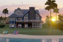 Dream House Plan - Craftsman Exterior - Rear Elevation Plan #1064-23