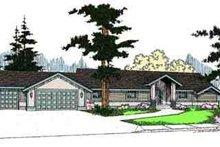 House Design - Ranch Exterior - Front Elevation Plan #60-624