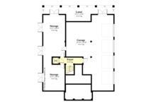 European Floor Plan - Lower Floor Plan Plan #930-505