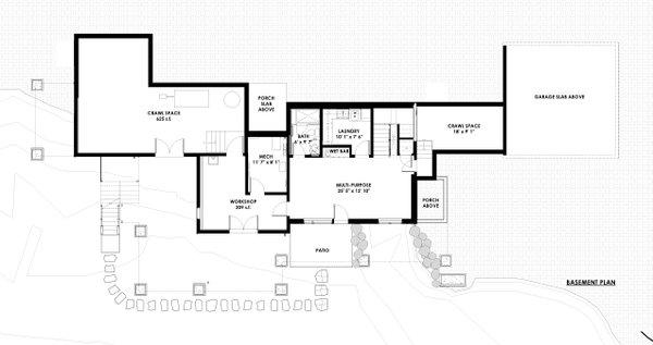 Dream House Plan - Basement