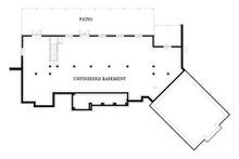 Craftsman Floor Plan - Lower Floor Plan Plan #119-367