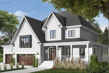Traditional Exterior - Front Elevation Plan #23-570