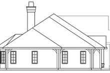 Ranch Exterior - Other Elevation Plan #124-372