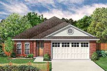 House Plan Design - Traditional Exterior - Front Elevation Plan #84-205