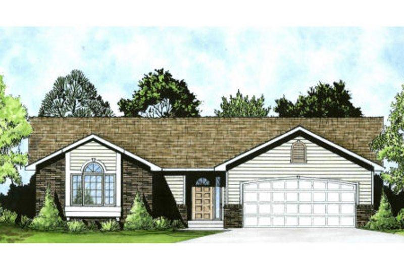 House Plan Design - Ranch Exterior - Front Elevation Plan #58-159
