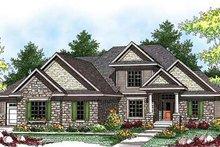 Dream House Plan - Bungalow Exterior - Front Elevation Plan #70-922