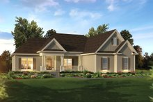 Ranch Exterior - Front Elevation Plan #57-658
