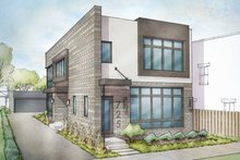 Contemporary Exterior - Front Elevation Plan #928-296