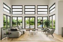 Architectural House Design - Modern Photo Plan #23-2747