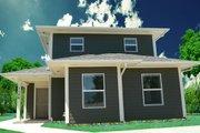 Craftsman Style House Plan - 3 Beds 2 Baths 1264 Sq/Ft Plan #518-7
