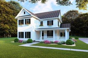 Farmhouse Exterior - Front Elevation Plan #923-103